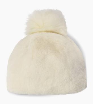 UGG Faux Fur Beanie with Pom
