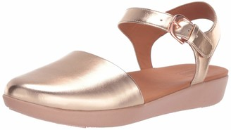 FitFlop Women's COVA II Closed-Toe Sandals Ballet Flat