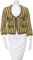 By Malene Birger Collarless Tweed Jacket