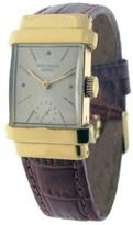 Patek Philippe 1450J Vintage 1450 18K Yellow Gold Top Hat Mens Watch