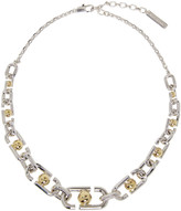 Marc Jacobs Silver Icon Necklace
