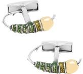 Cufflinks Inc. Men's Sterling Fishing Fly Cufflinks
