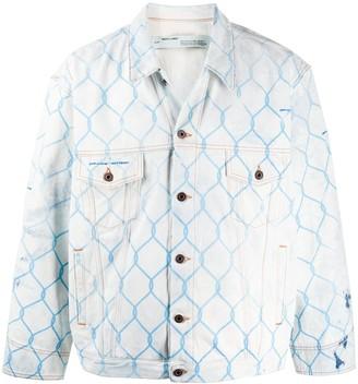 Off-White Fence denim jacket