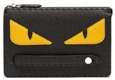 Fendi Bag Bugs Wrist-strap Leather Pouch