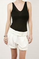 Drapey Short - White