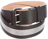 Barbara Bui Embroidered Leather Belt