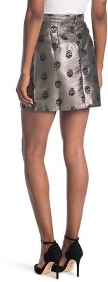 ModCloth Skull Brocade Mini Skirt