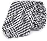 TOMORROWLAND Silk houndstooth tie