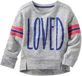 Osh Kosh Toddler Girl Graphic Sweatshirt