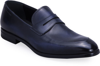 Bally Men's Limao Leather Penny Loafers