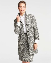 Animal Jacquard Coat