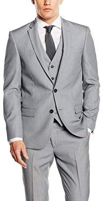 New Look Men's Slim Fit Suit Jacket,Size 38