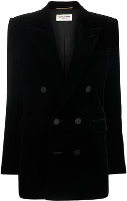 Saint Laurent Double-Breasted Blazer