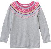 Toddler Girl Jumping Beans® Patterned Top Raglan Sweater Tunic