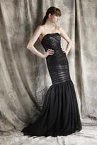 Theia Sequined Mermaid Dress 881339