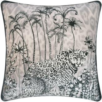 Emma J Shipley - Jaguar Cushion - 58x58cm