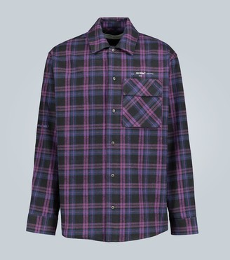 Off-White Flannel checked shirt