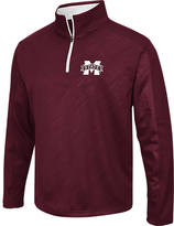 Men's Stadium Mississippi State Bulldogs College Embossed Sleet Quarter-Zip Pullover