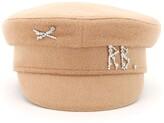 Thumbnail for your product : Ruslan Baginskiy Monogram Embellished Hat