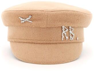 Ruslan Baginskiy Monogram Embellished Hat