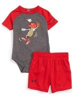 Under Armour Infant Boy's Peanut Outfielder Bodysuit & Shorts Set