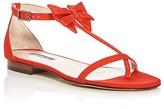Sarah Jessica Parker Tots Grosgrain T-Strap Bow Sandals