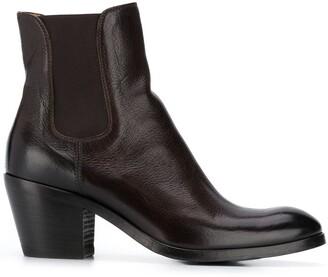 Alberto Fasciani Low-Heel Ankle Boots