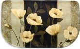 Bacova Midnight Poppies 18-Inch x 30-Inch Memory Foam Mat