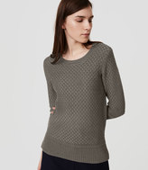 LOFT Basketweave Sweater