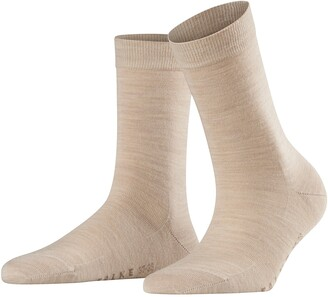 Falke womens Softmerino Dress Sock - Merino Wool/Cotton Blend