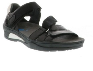 Wolky Leather Adjustable Walking Sandals - Ripple