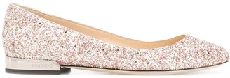 Jimmy Choo Jessie flat ballerina shoes