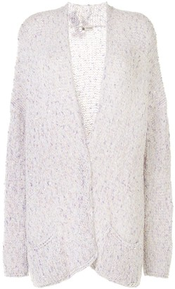 Colombo Sequinned Open Front Cardigan