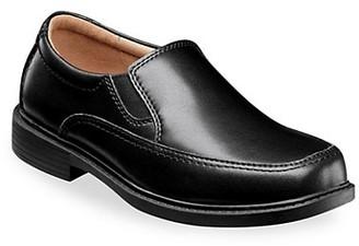 Florsheim Little Kid's & Kid's Bogan Jr. Moc-Toe Slip-On Leather Dress Shoes