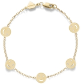 Alison Lou 14K Gold Smile By The Yard Bracelet
