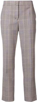 Schumacher Dorothee cropped plaid trousers