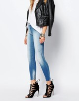 Replay Sherilyn Ankle Grazer Jean With Zip Detail