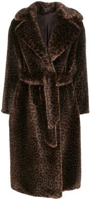 Tagliatore Molly faux fur coat