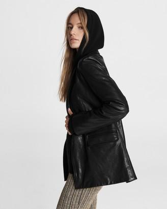Rag & Bone Trinity leather blazer