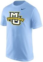 Nike Men's Light Blue Marquette Golden Eagles Big Logo T-Shirt