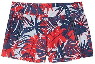Columbia Tidal II Shorts (Collegiate Navy Tropical Print) Women's Shorts