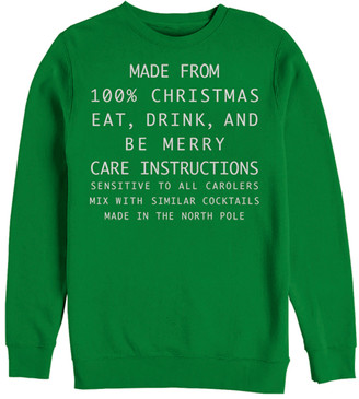 Fifth Sun Men's Sweatshirts and Hoodies KELLY - Kelly '100% Christmas' Pullover Sweatshirt - Men