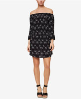 Sanctuary Julia Printed Off-The-Shoulder Shift Dress