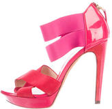 Fendi Colorblock Platform Sandals