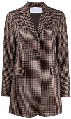 Harris Wharf London Wool Blend Single Breasted Tweed Jacket