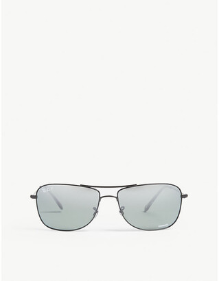 Ray-Ban RB3543 Chromance square-frame sunglasses