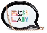 Sophia Webster 'Boss Lady' speech bubble leather bag