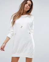 Missguided Oversized Sweat Dress