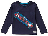 Joules Little Boys 3-6 Long-Sleeve Pullover Tee