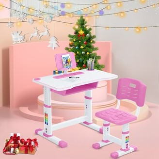 "Isabelle & MaxTM Dylan Children Study 27.5"" Art Desk and Chair Set Isabelle & Max"